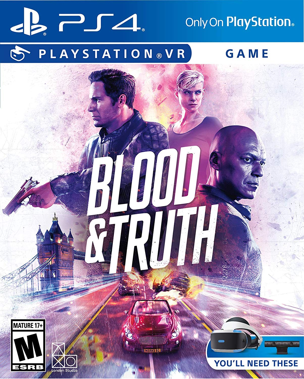PS4 PSVR Blood & Truth VR