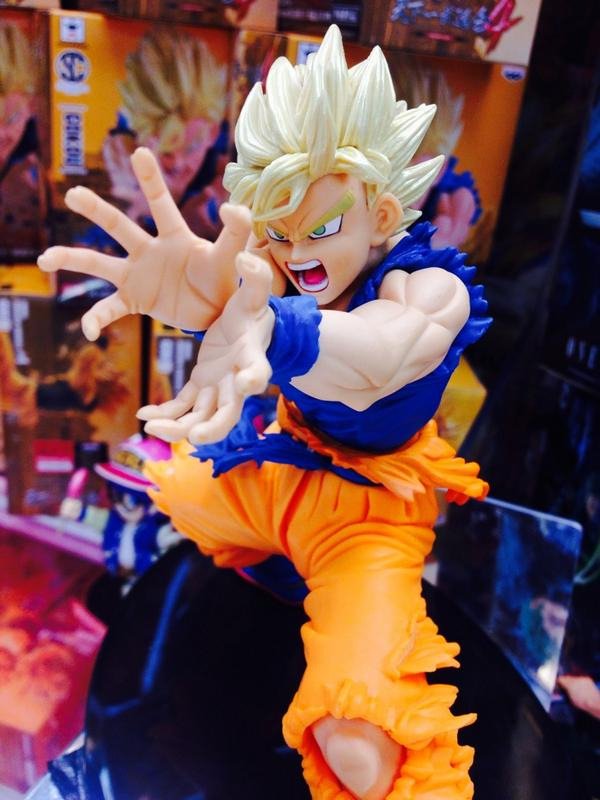 Super Saiyan Son Goku Dragon Ball Z BIG SCultures