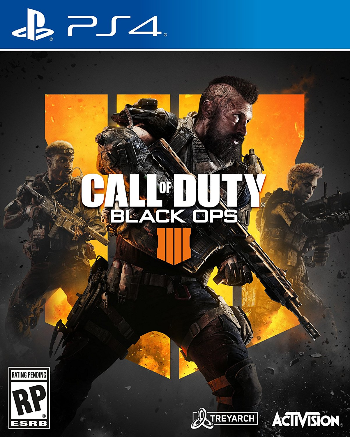 PS4 COD Call of Duty: Black Ops 4