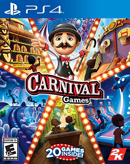 PS4 Carnival Games (PlayStation 4)