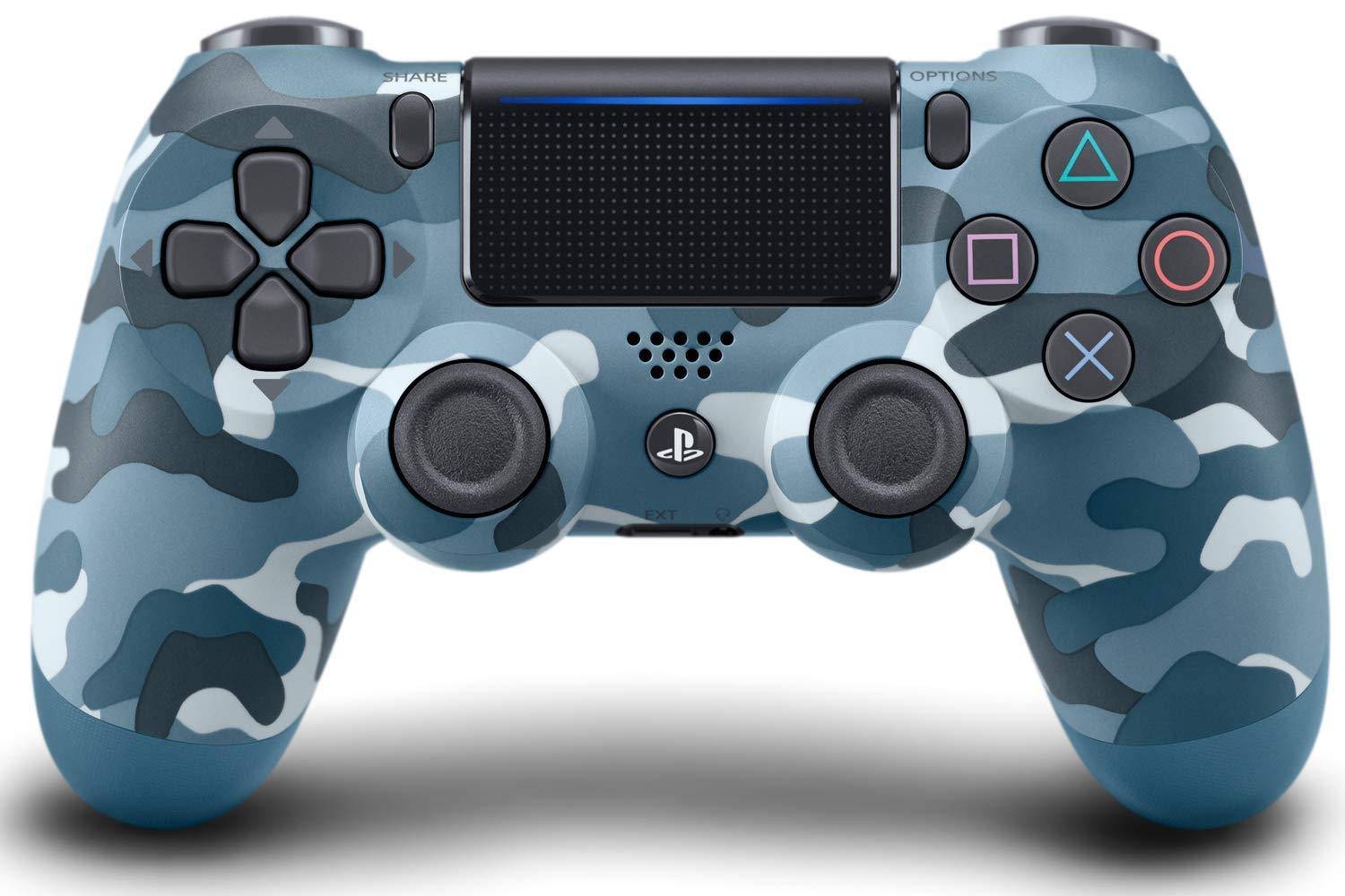 PS4 Dualshock 4 Wireless Controller Blue Camouflage