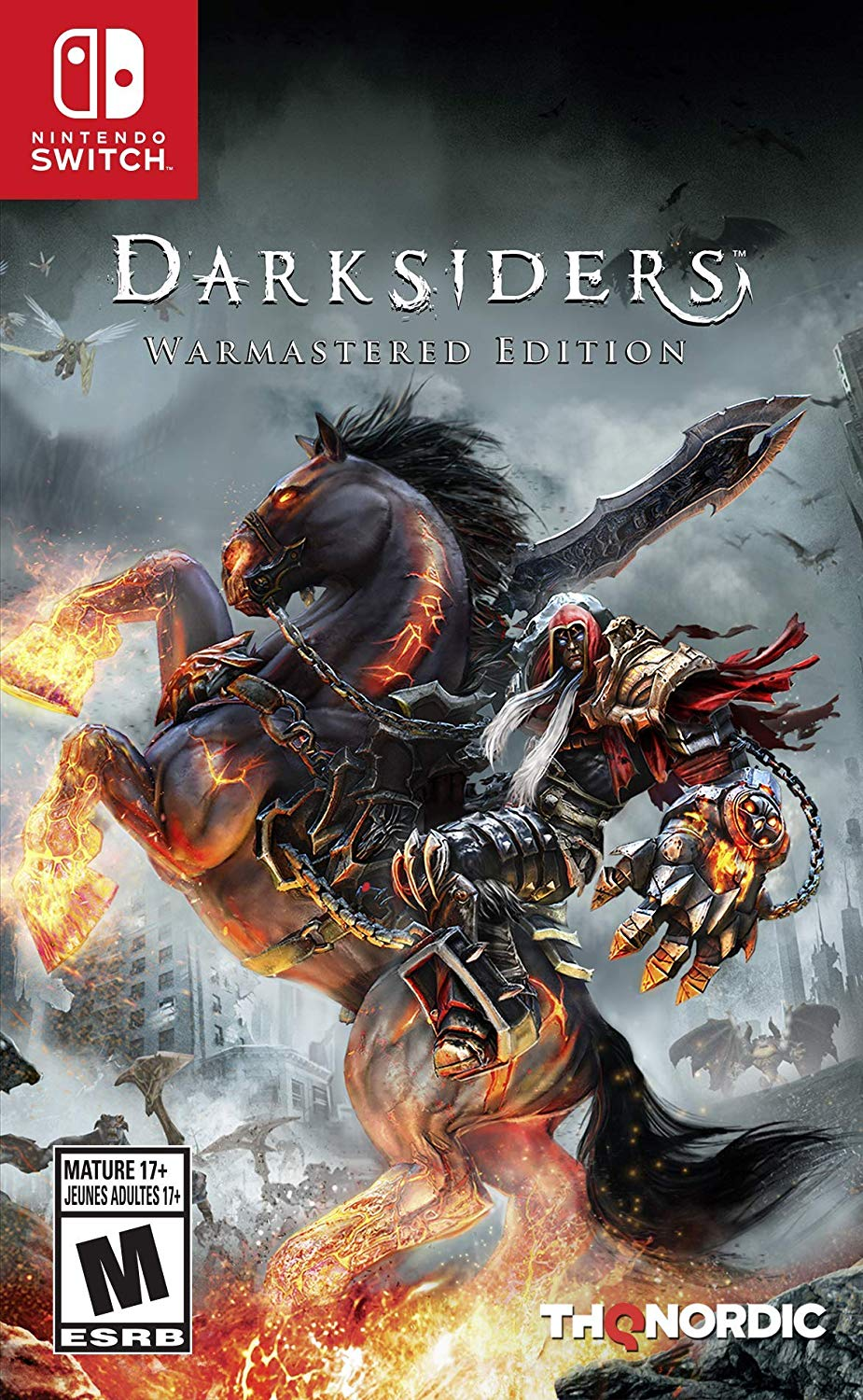 Darksiders Warmastered Edition Nintendo Switch USA