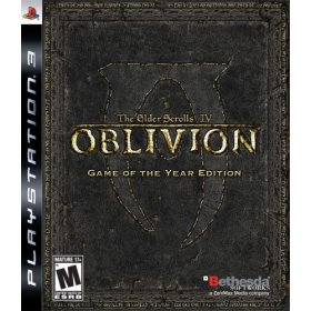 Elder Scrolls IV: Oblivion: Game of the Year Edition for PS3 US