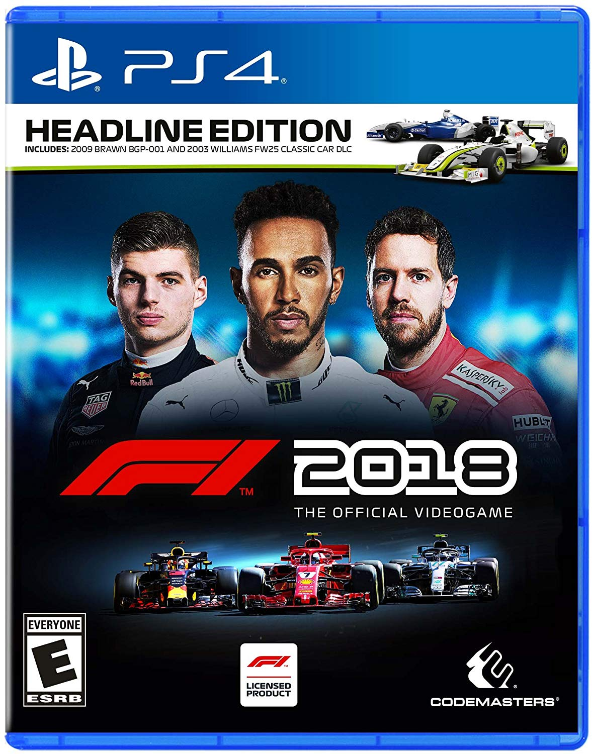 PS4 F1 2018 Formula One Espanol (PlayStation 4)