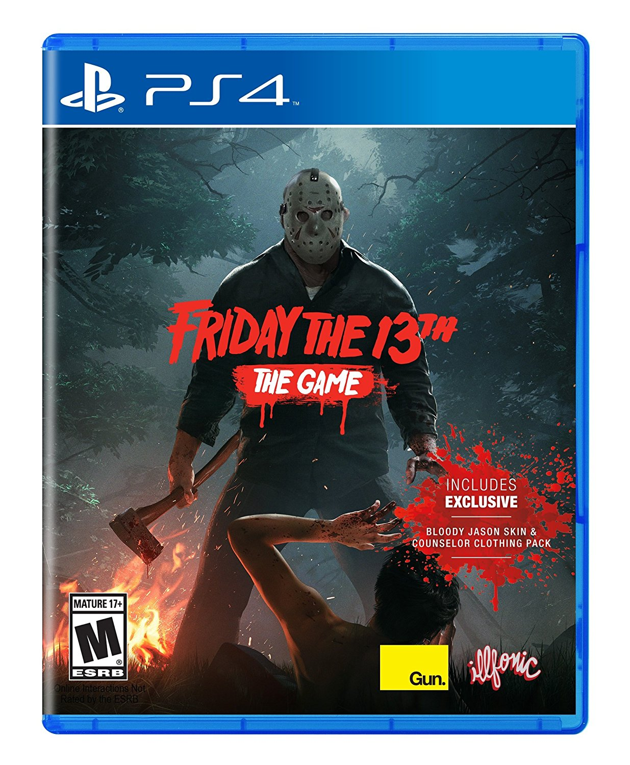 PS4 Friday The 13th The Game (PlayStation 4)