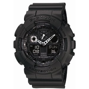 CASIO G-SHOCK GA-100-1A1JF