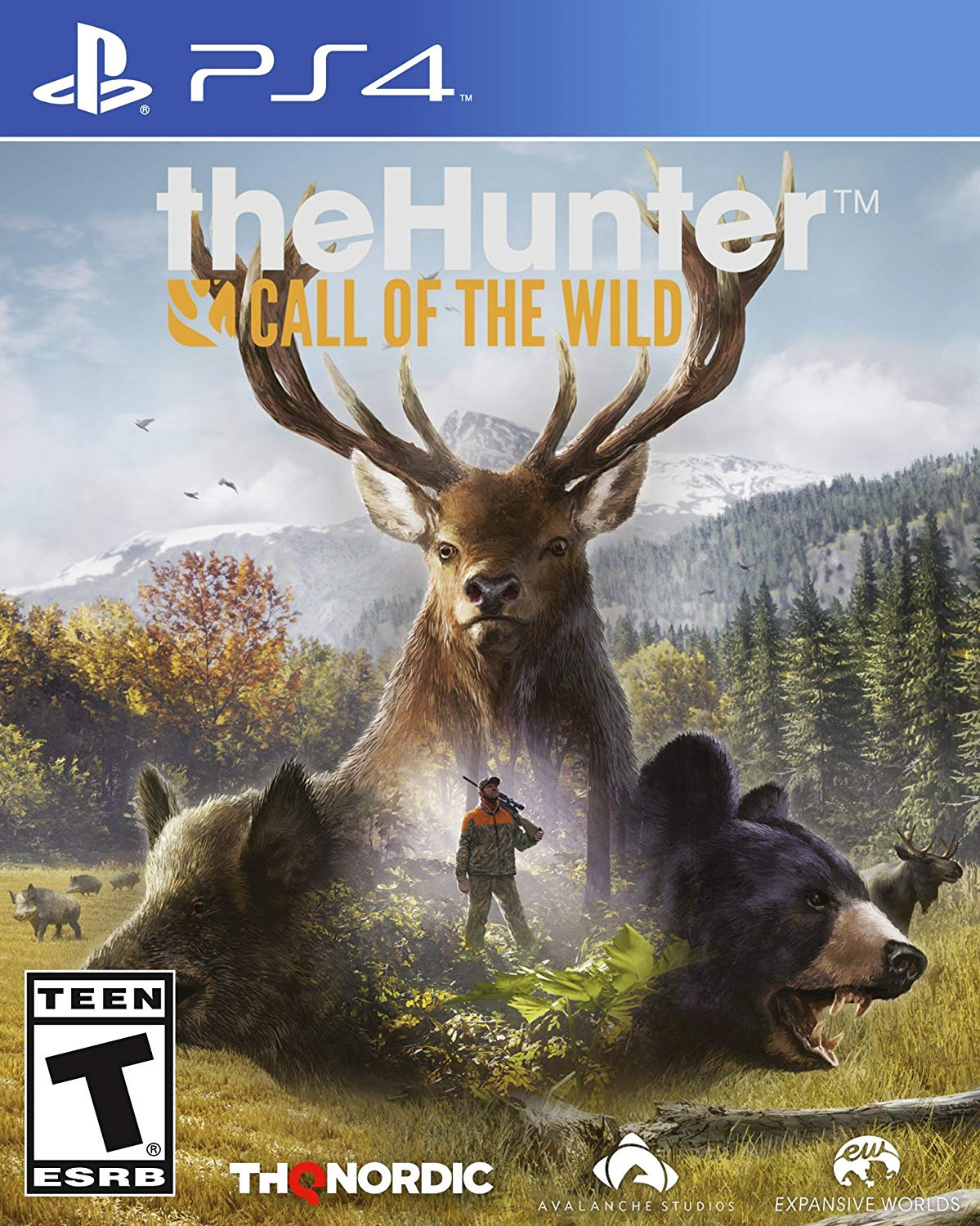 PS4 Hunter: Call of the Wild (PlayStation 4)