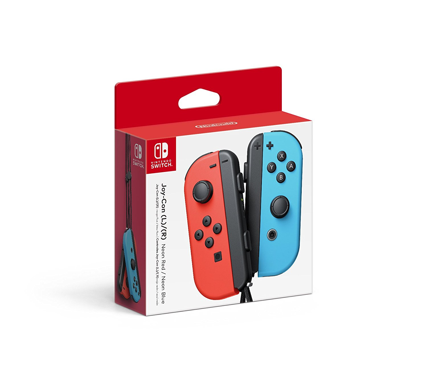 Nintendo Switch - Joy-Con (L/R) Neon Red Neon Blue