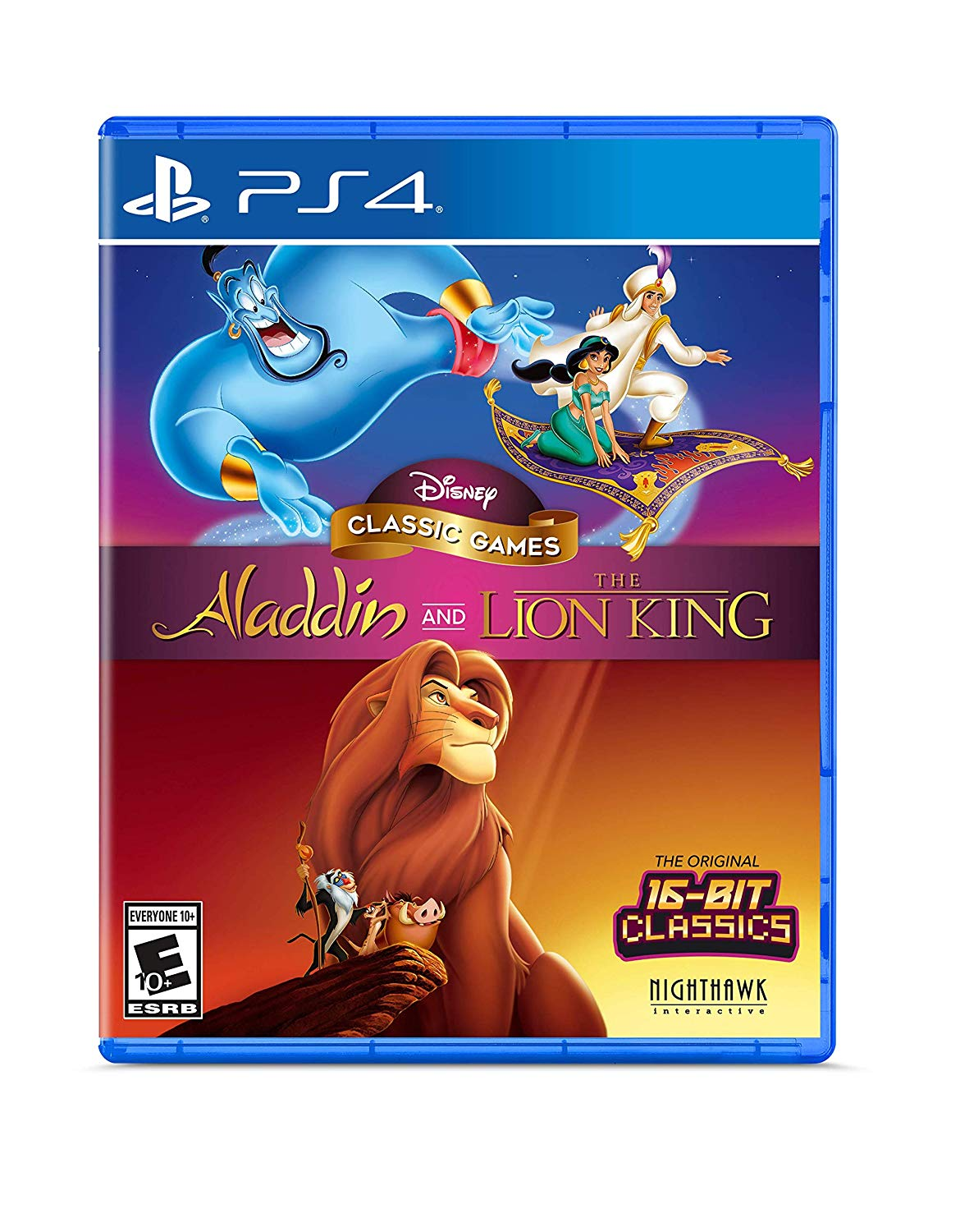 PS4 Aladdin and The Lion King (PlayStation 4)