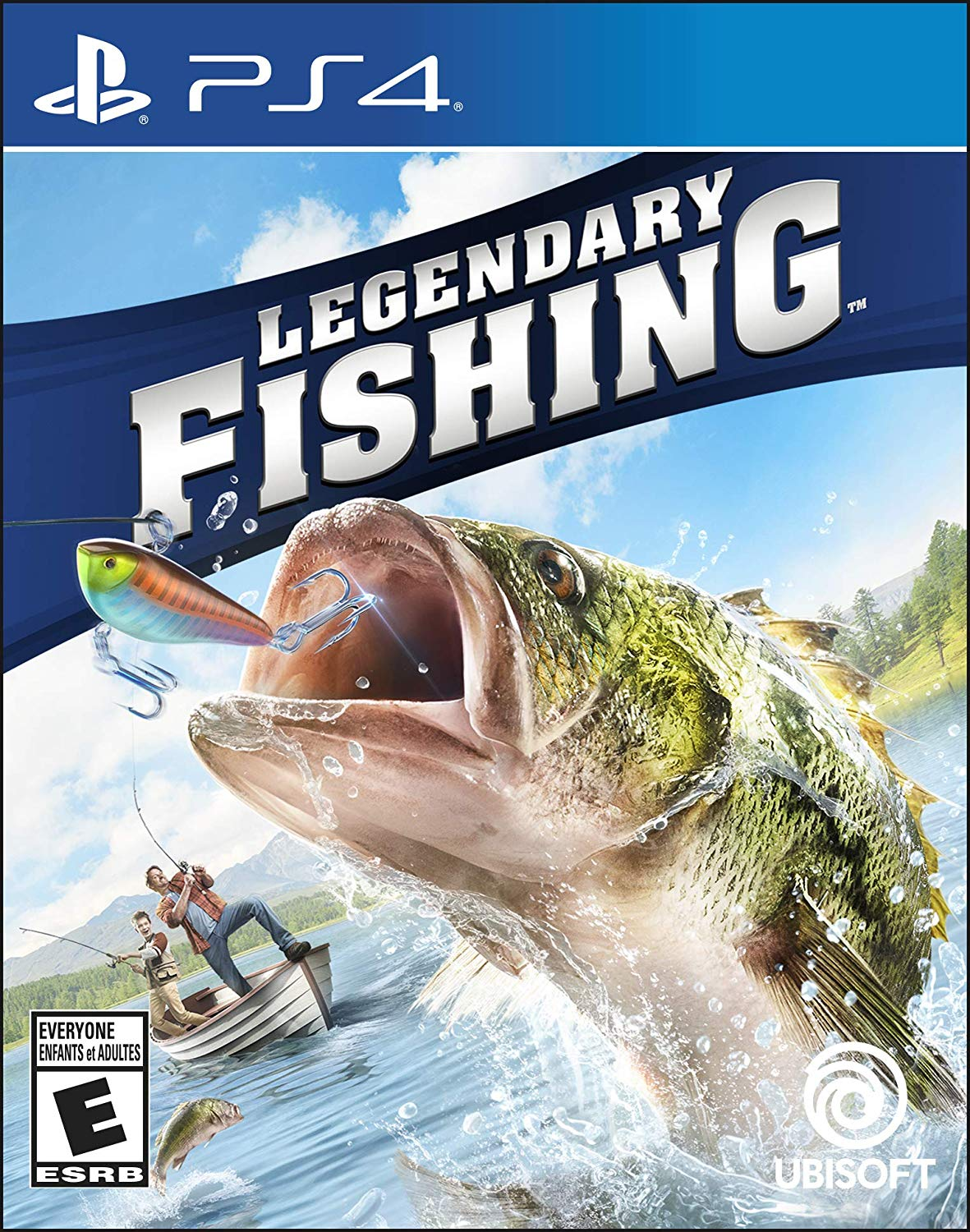 PS4 Legendary Fishing (PlayStation 4)