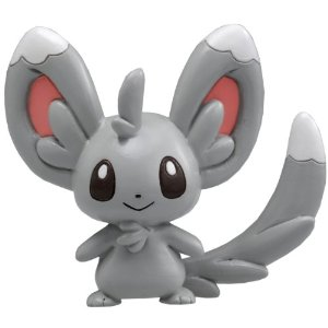 Pokemon Black and White Figure - M-022 - Chillarmy/Minccino