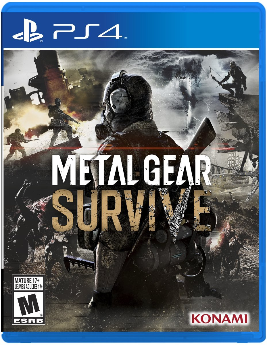 PS4 Metal Gear Survive em Português e Español