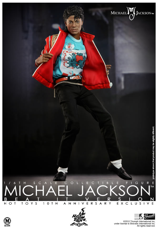 Beat It Michael Jackson 10th Anniversary Exclusive SEMINOVO
