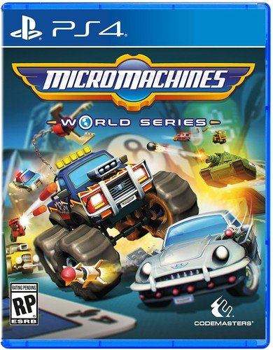 PS4 Micro Machines World Series