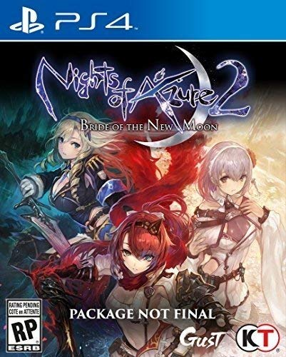 PS4 Nights of Azure 2: Bride of the New Moon