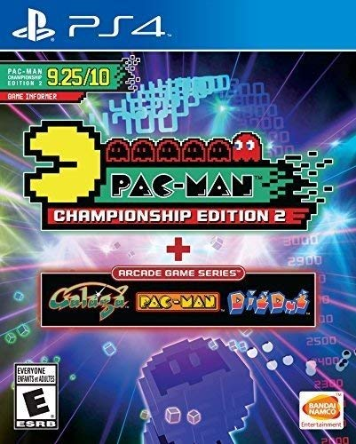 PS4 PacMan Championship Ed + Arcade Game Series