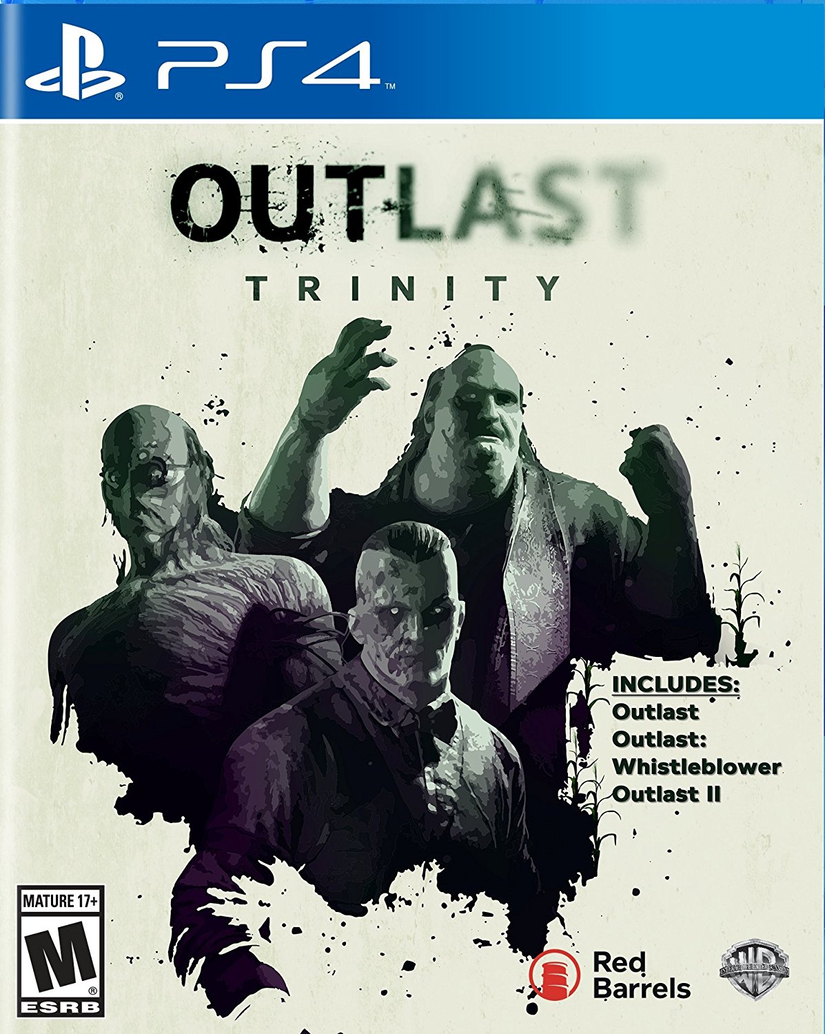 PS4 Outlast Trinity (PlayStation 4)