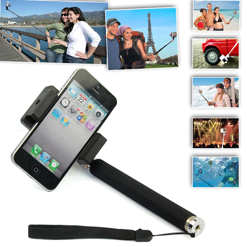 Monopod Selfie Self-shotting for iPhone/Android com Bluetooth