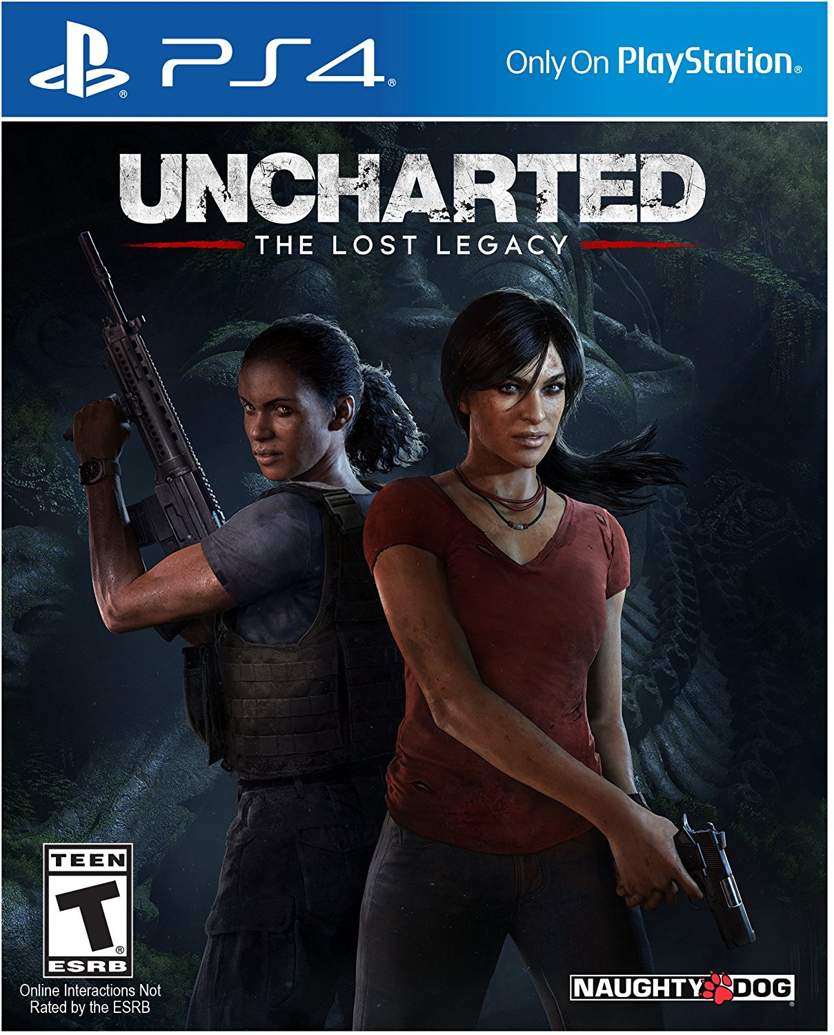 PS4 Uncharted: The Lost Legacy em Portugues (PlayStation 4)