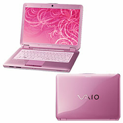 Sony VAIO type C Pink Core 2 Duo 2.40Ghz