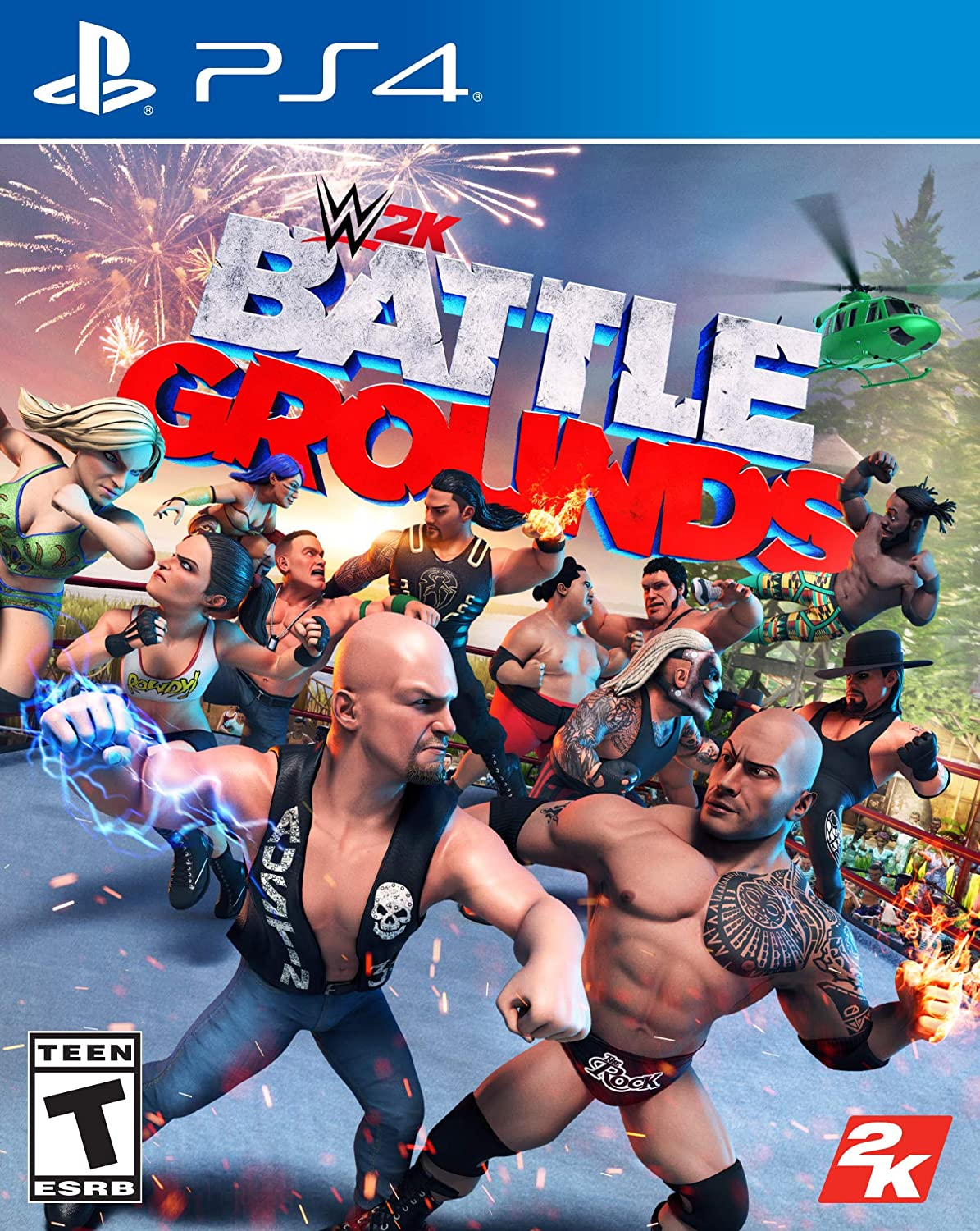 PS4 WWE 2K Battlegrounds (PlayStation 4)