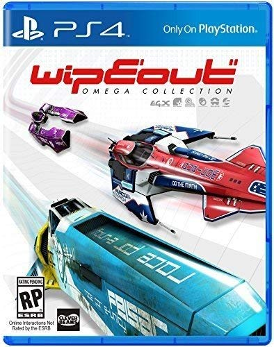 PS4 Wipeout omega collection VR (PlayStation 4)