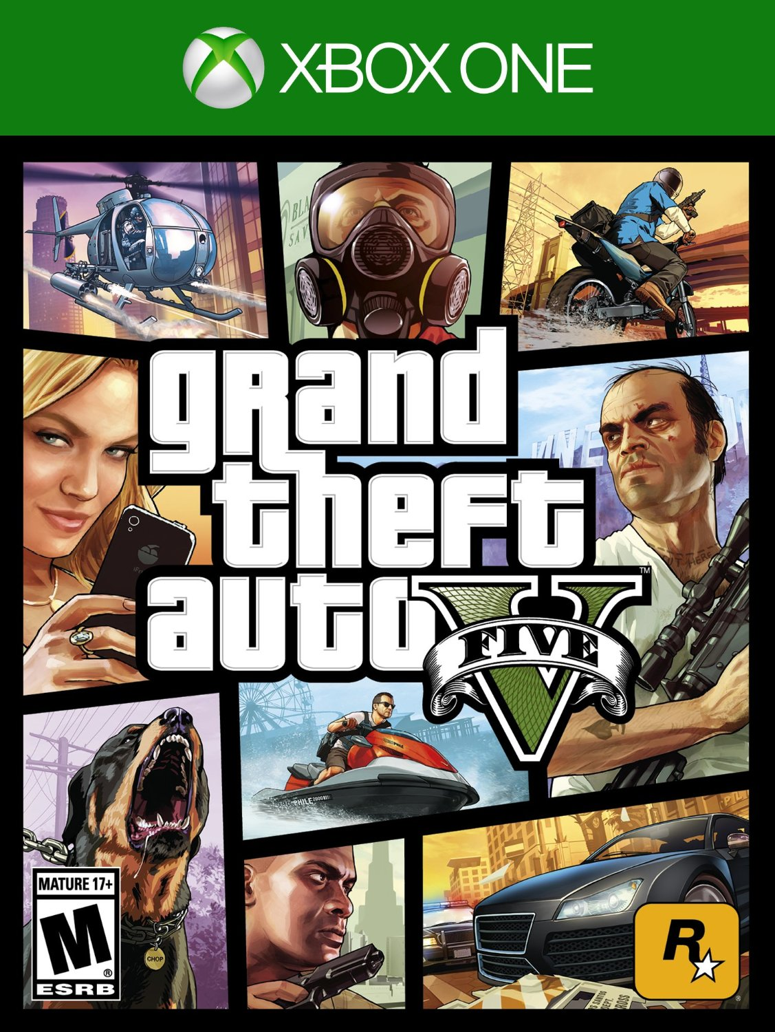 GTA 5 Grand Theft Auto V em Português for XBOX ONE US