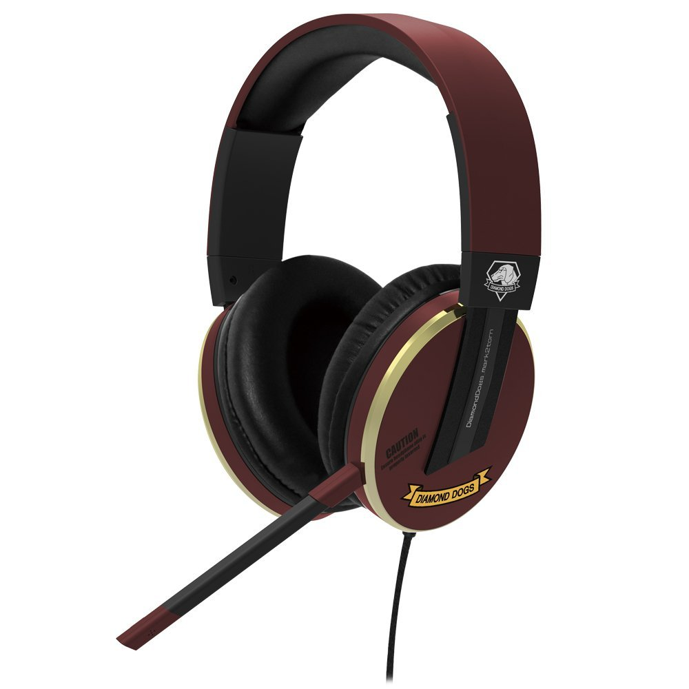 PS4 HORI METAL GEAR SOLID V: THE PHANTOM PAIN Headphone