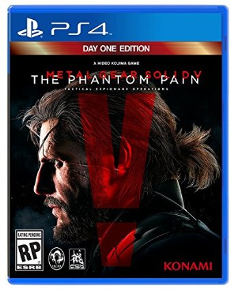 PS4 Metal Gear Solid V: The Phantom Pain (PlayStation 4)