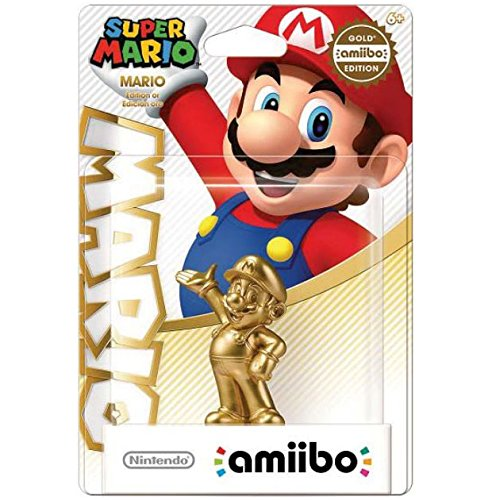 Amiibo Gold Mario (Super Smash Bros. Series)