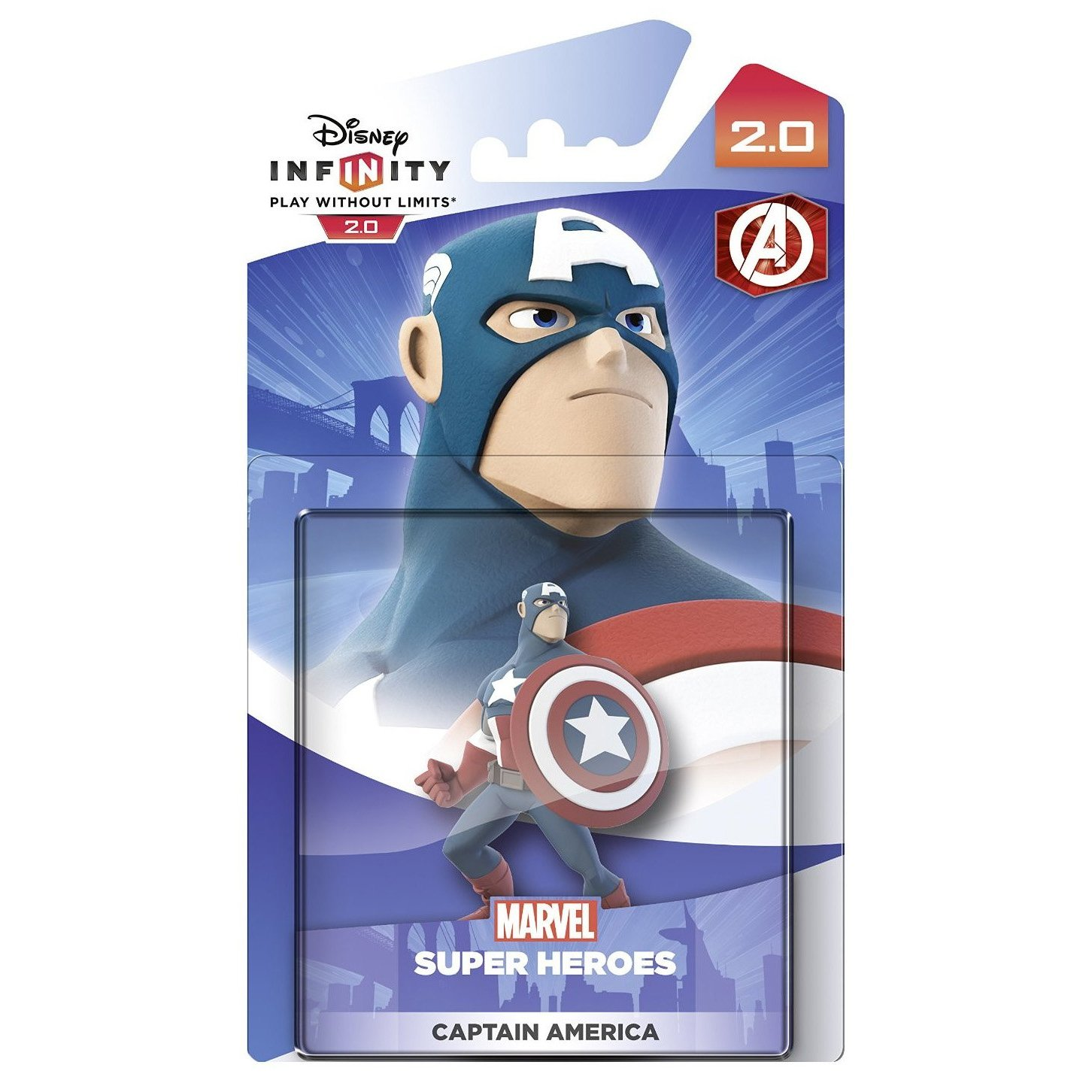 Disney Infinity 2.0 Captain America Figure