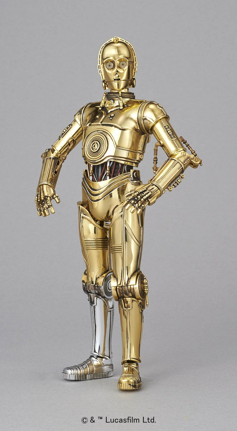 Bandai Star Wars C-3PO 1/12 Plastic Model