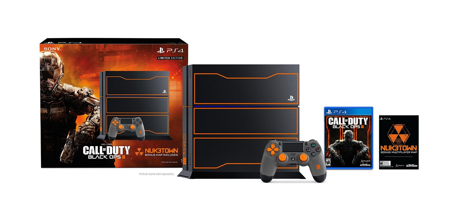 PS4 1TB Console Call of Duty Black Ops 3 Limited Edition Bundle