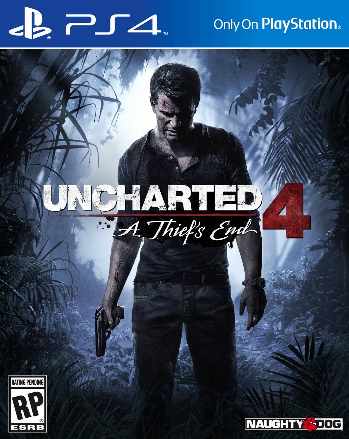 PS4 Uncharted 4: A Thief's End em Português e Español