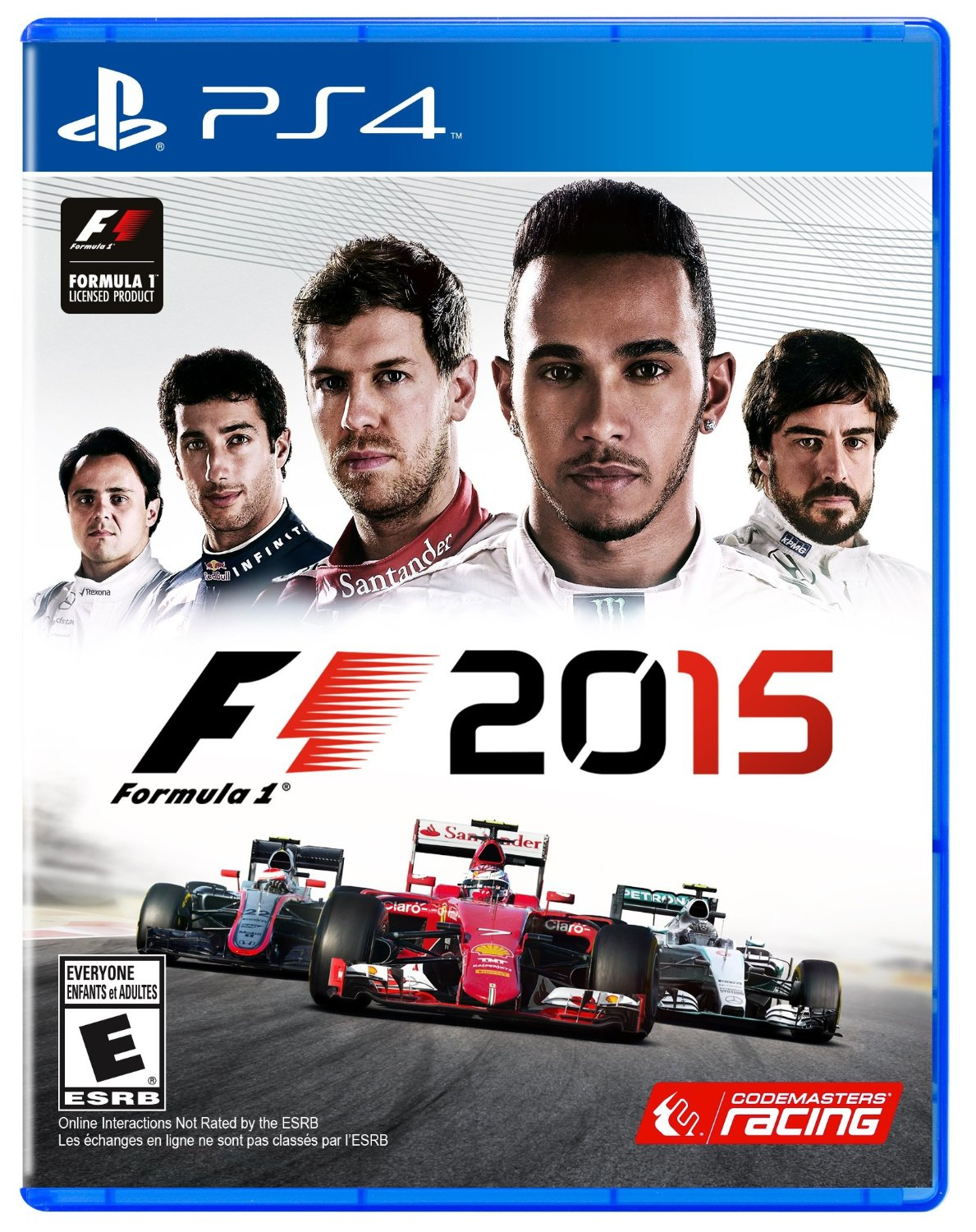 PS4 F1 2015 Formula One Espanol (PlayStation 4)