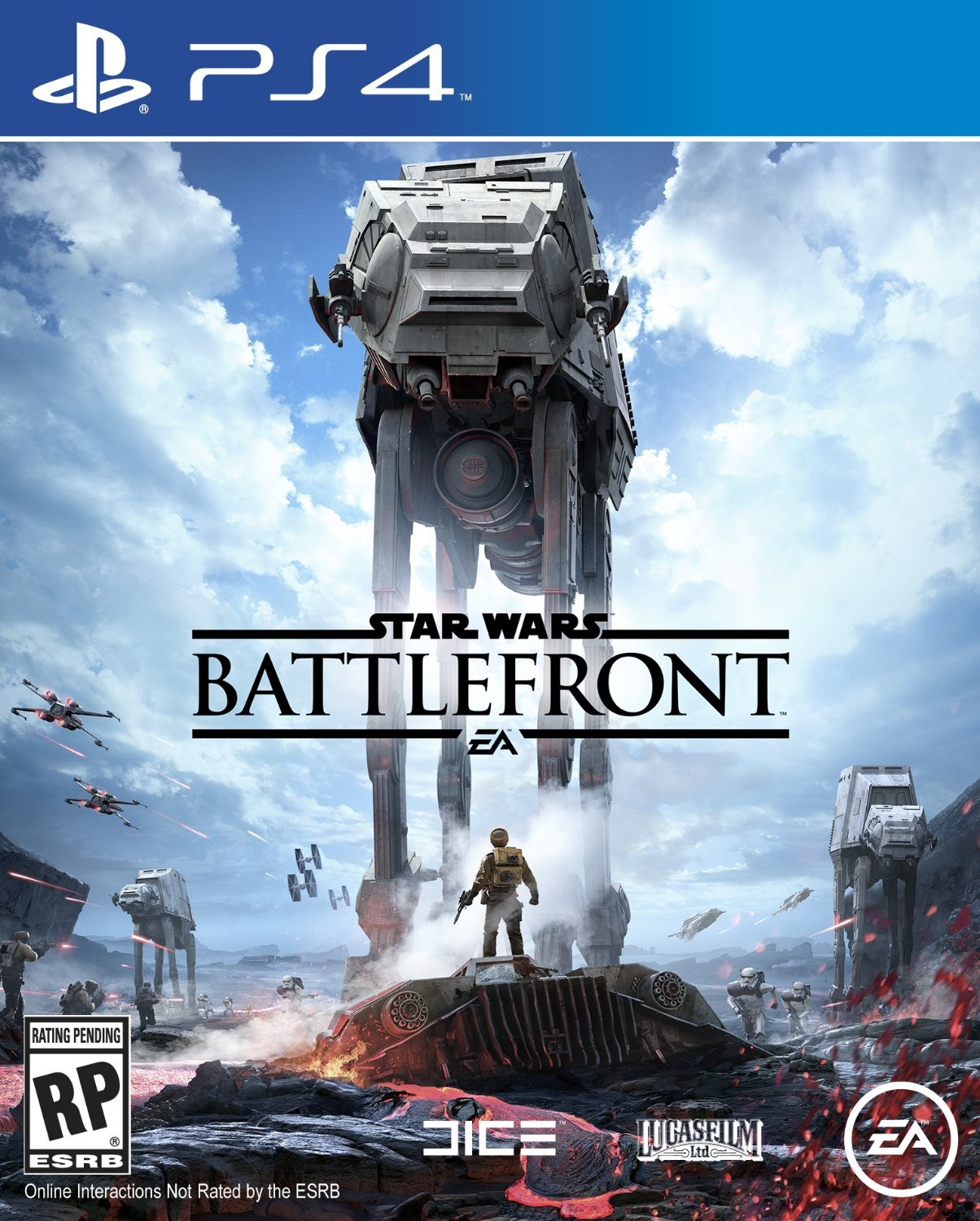 PS4 Star Wars Battlefront em Portugues e Espanol (PlayStation 4)