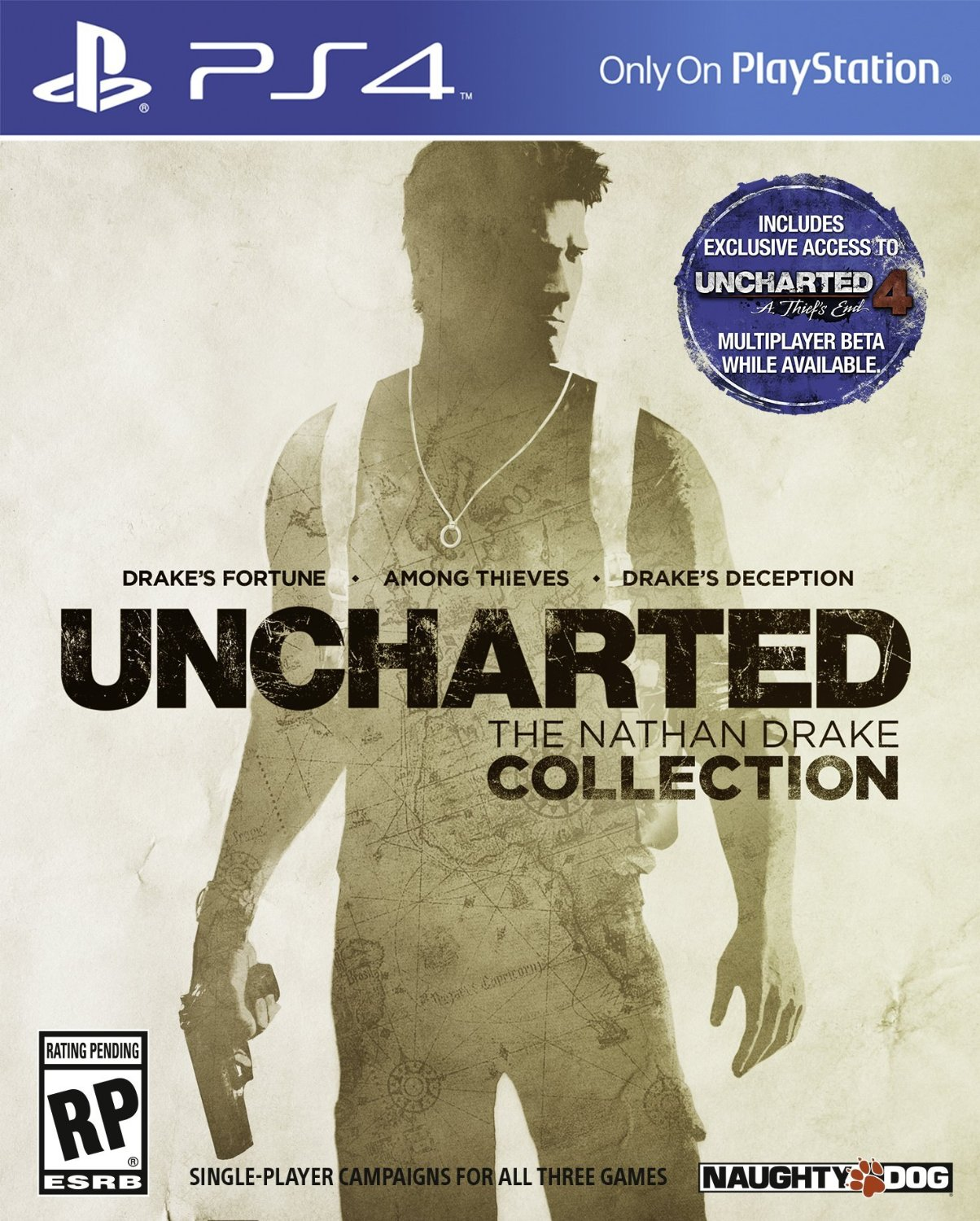 PS4 3 em 1 UNCHARTED The Nathan Drake Collection em Portugues e