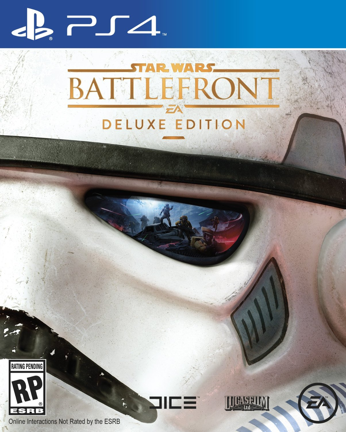 PS4 Star Wars Battlefront DELUXE EDITION (PlayStation 4)