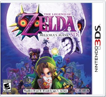 3DS - The Legend of Zelda Majoras Mask 3D US