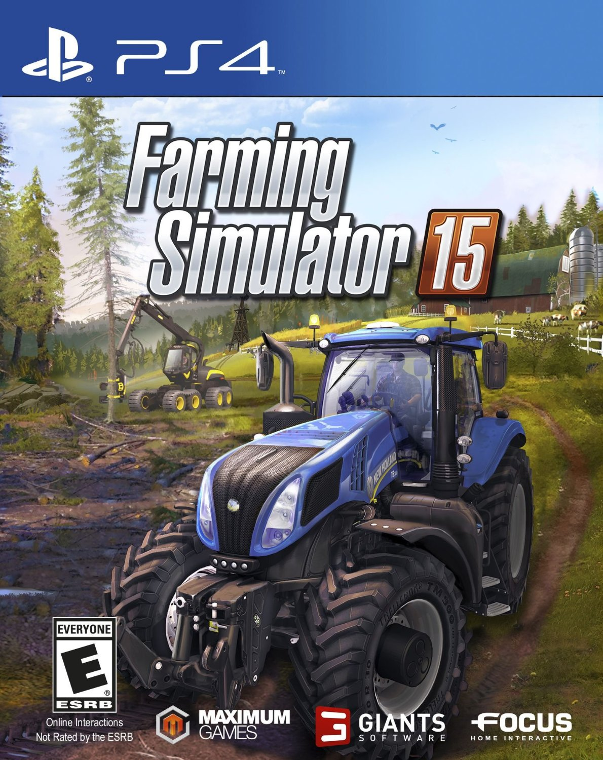 PS4 Farming Simulator 15 (PlayStation 4)