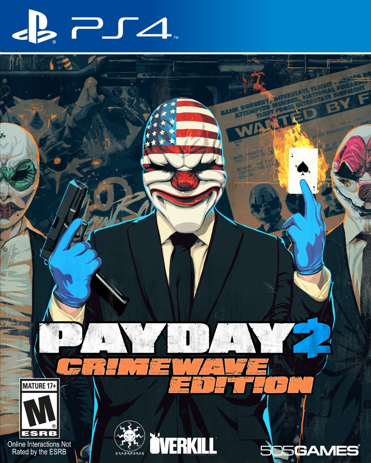 PS4 Payday 2 Crimewave (PlayStation 4)