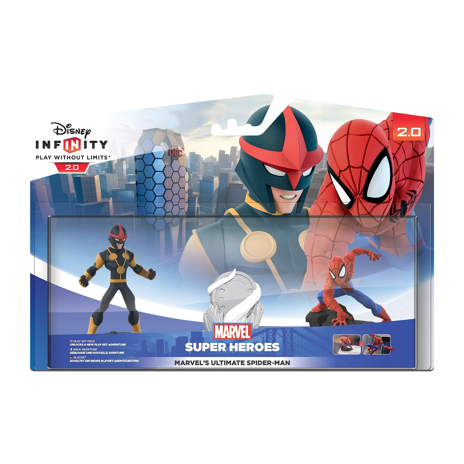 Disney Infinity 2.0 Spider-Man Playset Pack