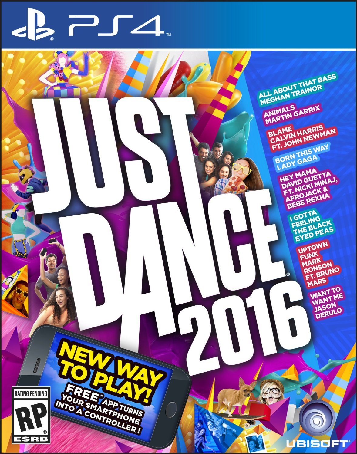 PS4 Just Dance 2016 em Português e Espanol (PlayStation 4)
