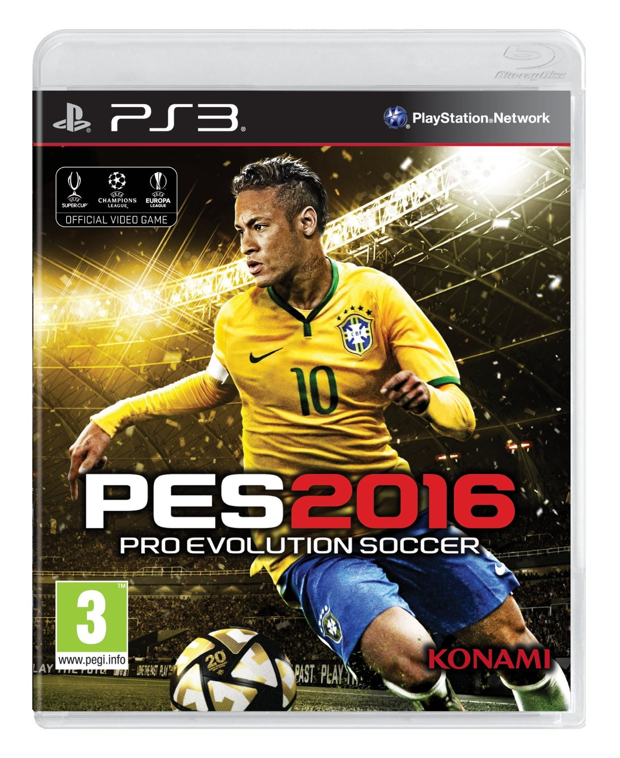 PES Pro-Evolution Soccer 2016 for PS3 Português e Español