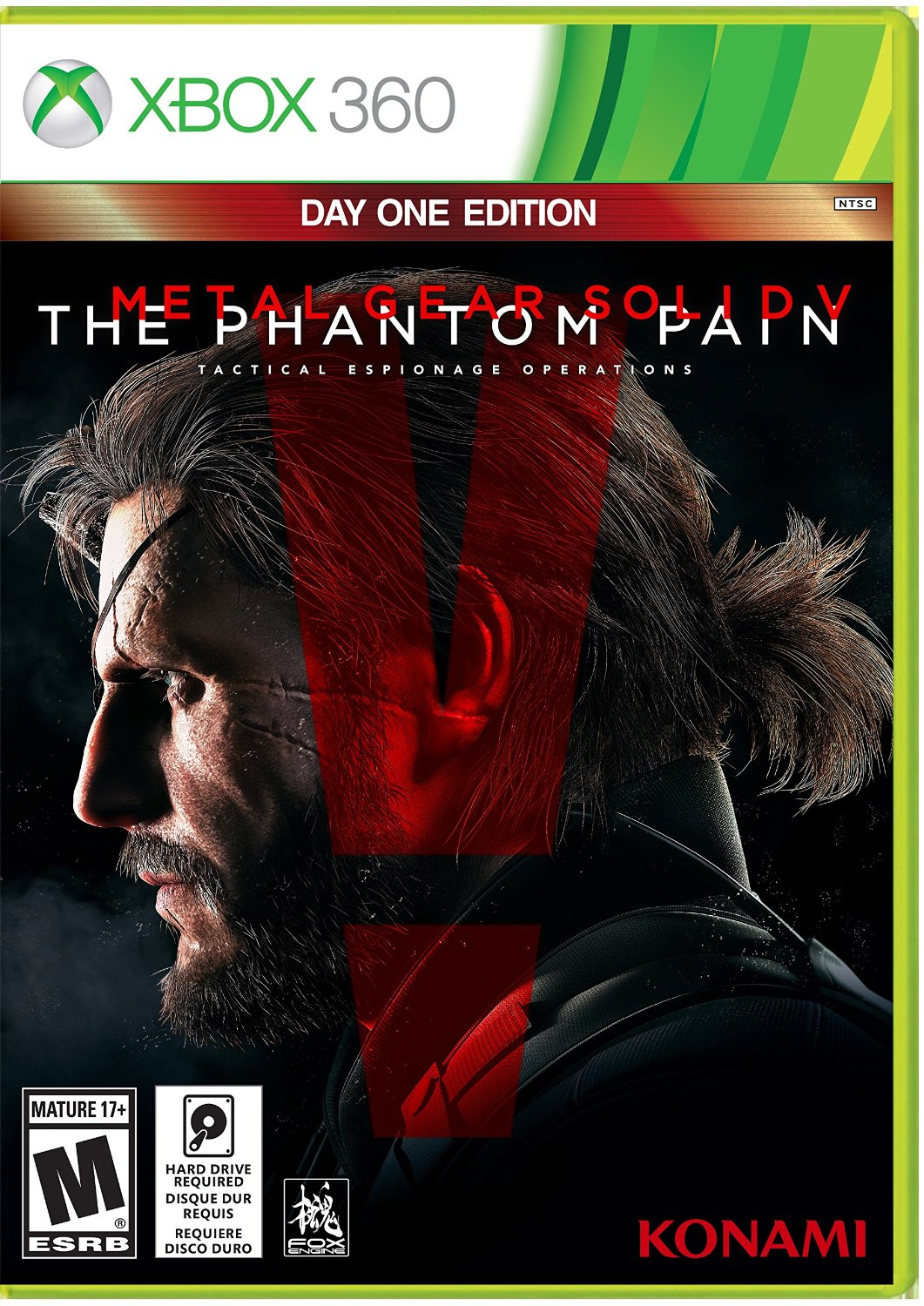 Xbox 360 - Metal Gear Solid V The Phantom Pain em Português e Es