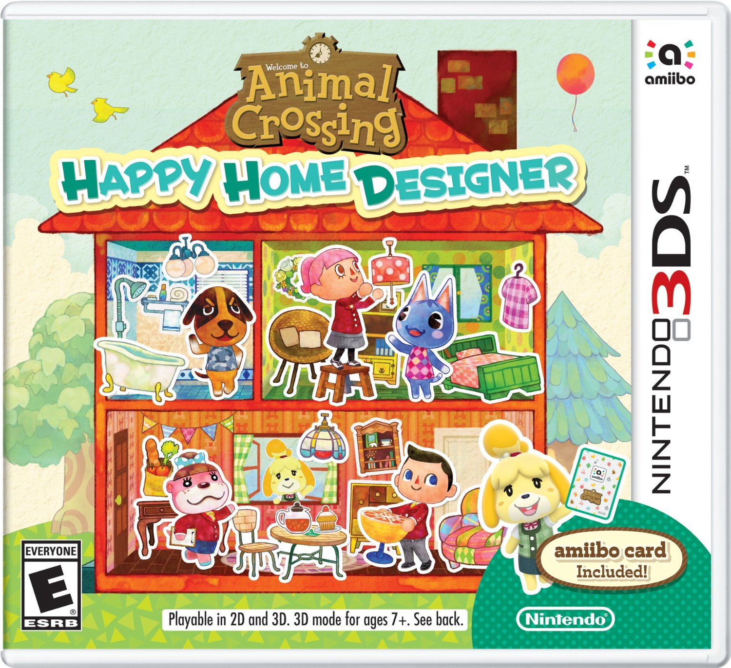 3DS - Animal Crossing: Happy Home Designer US
