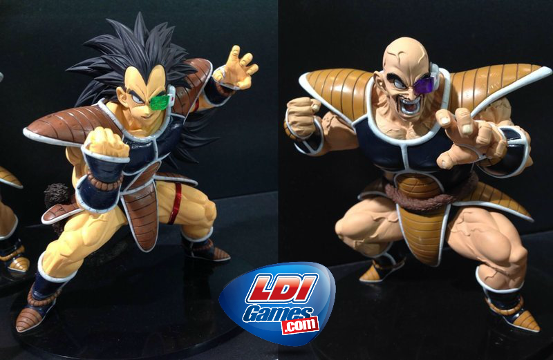 Dragon Ball Scultures BIG 5 Nappa & Raditz 15cm