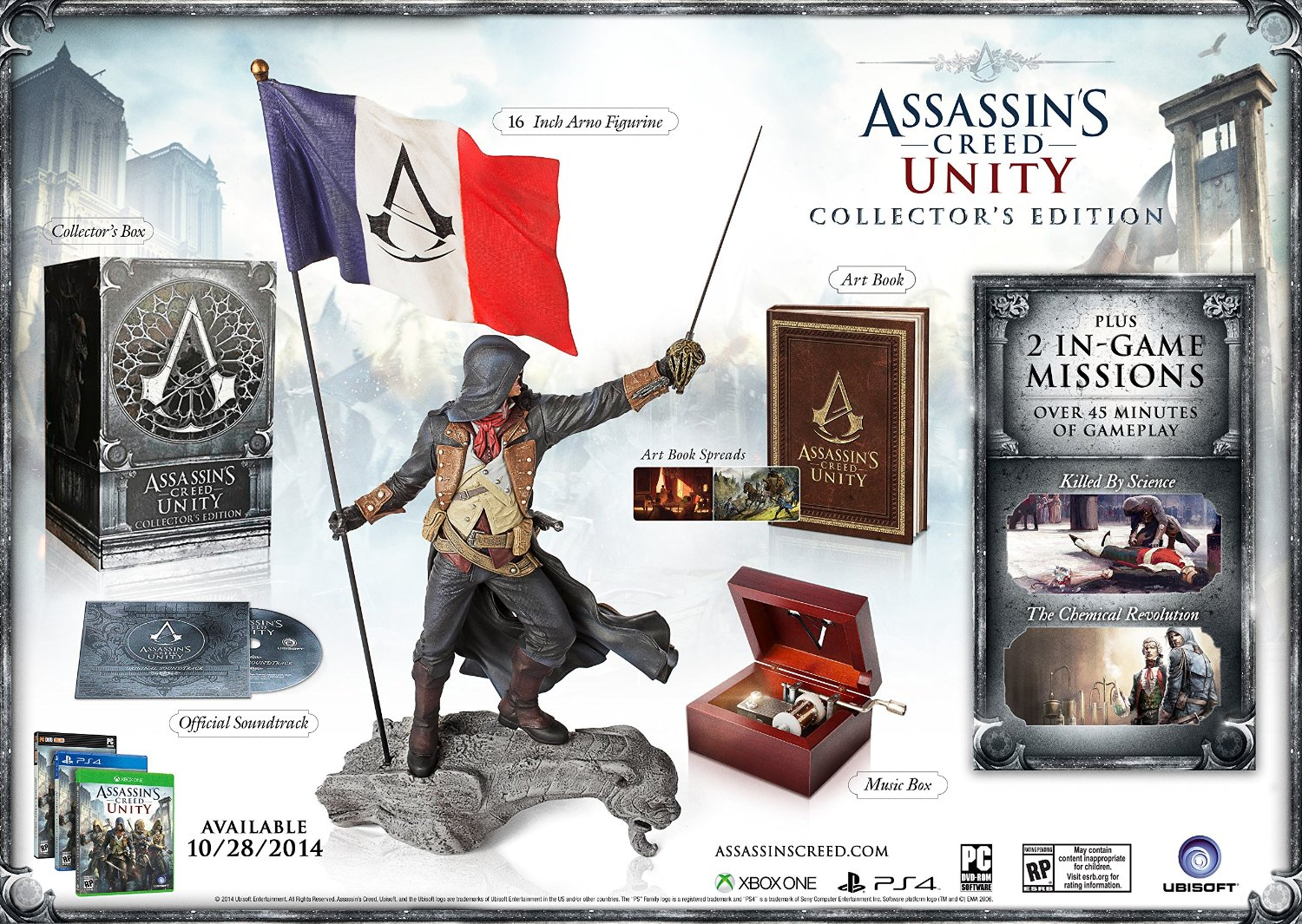 PS4 Assassin's Creed Unity Collector's Edition (PlayStation 4)