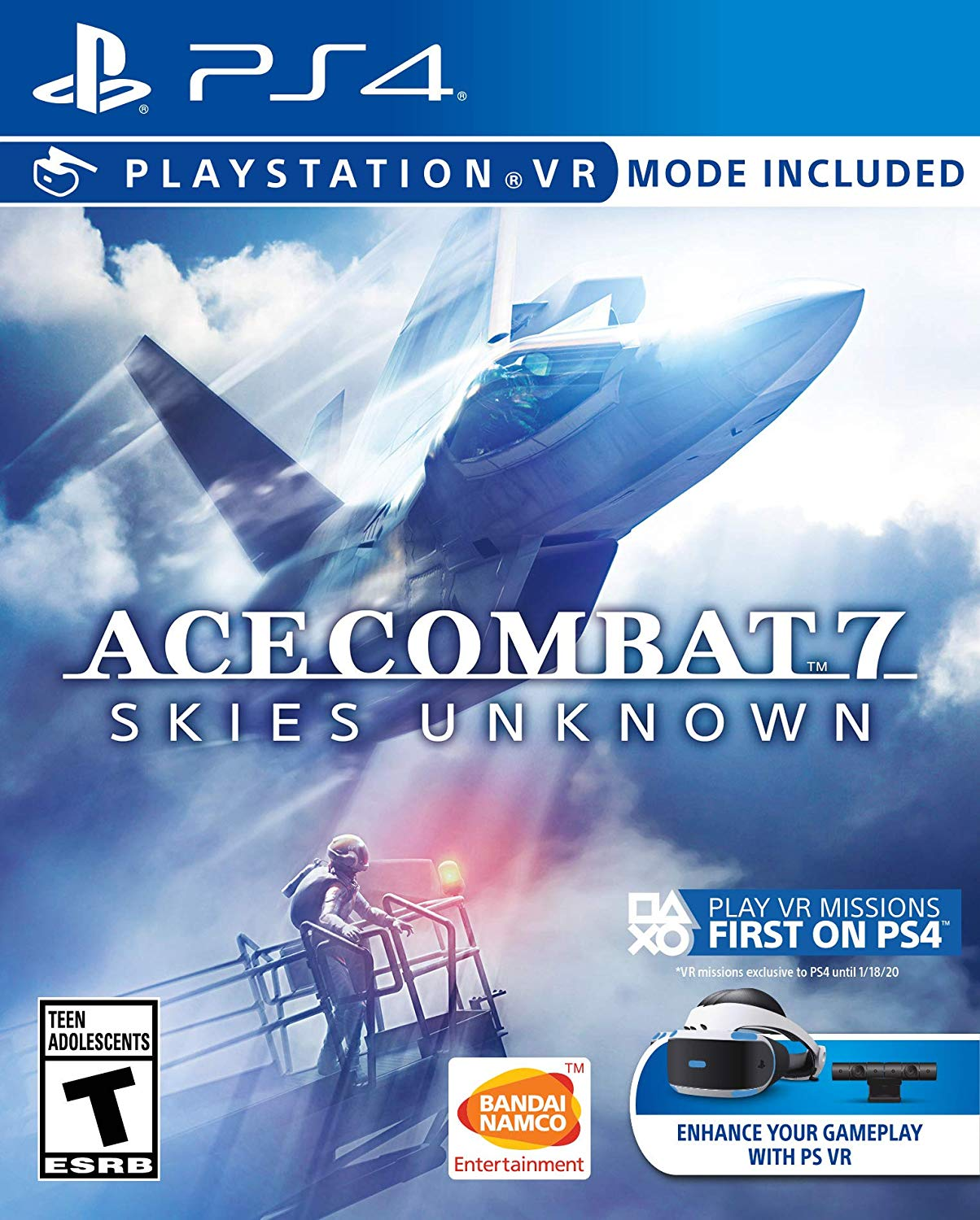 PS4 PSVR Ace Combat 7: Skies Unknown em Português e Espanol
