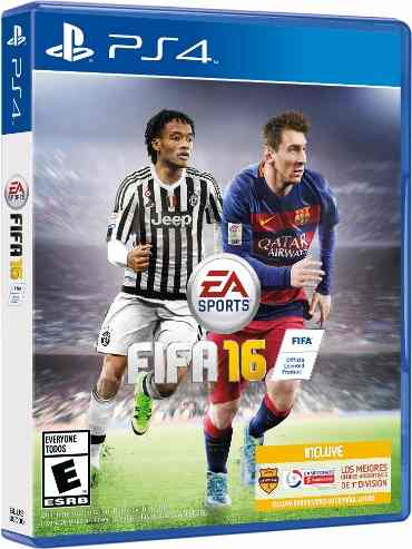 PS4 FIFA 16 em Ingles e Español (PlayStation 4)